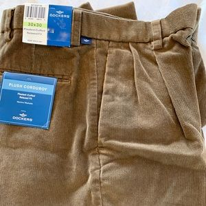 Dockers Corduroy Pants NWT